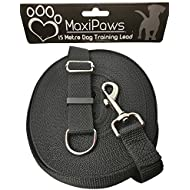 Professional Dog training Lead 15M/50ft Long, Strong Nylon lead with all Metal components