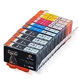 10x Druckerpatronen für HP 364 XL Multipack - kompatibel mit Photosmart 5510 6510 7510 4620 C5380 B210a