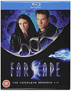 Farscape - The Definitive Collection (Series 1-4) [Blu-ray] [Toutes les régions] [Importé : Royaume-Uni]