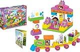 Dora Train Blocks, Multi Color (49 Piece...