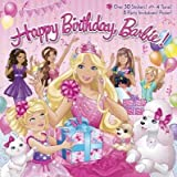 By Mary Man-Kong ; Kellee Riley ( Author ) [ Happy Birthday, Barbie! [With 8 Party Invitations and Poster and 4 Punch-Out Tiaras] Barbie (Random House) By Jan-2014 Paperback