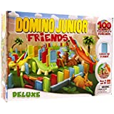 Goliath Games Goliath Junior Friends Deluxe Domino Game, Stem for Kids