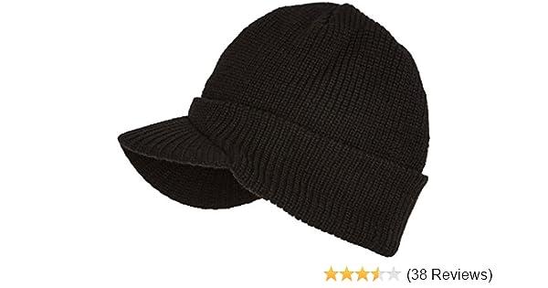 b46b717b88bb Trendy Cap - Mütze mit Schild schwarz Schwarz  Amazon.de  Schuhe    Handtaschen