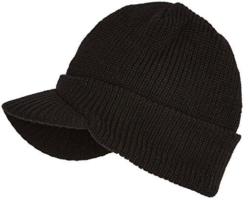 Trendy Cap - Mütze mit Schild schwarz Schwarz