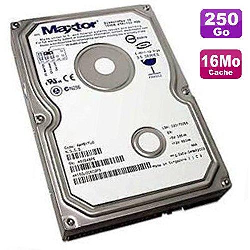 Maxtor Festplatte 250 GB SATA 3,5 Zoll DiamondMax 10 6V250F0 7200 RPM 16 MB -