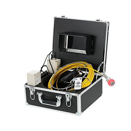 """Preisvergleich Produktbild Docooler 7"""" LCD Monitor Pipeline Inspektion Kamera / Industrielle Endoskop,  20m Kabel / Wasserdicht"""