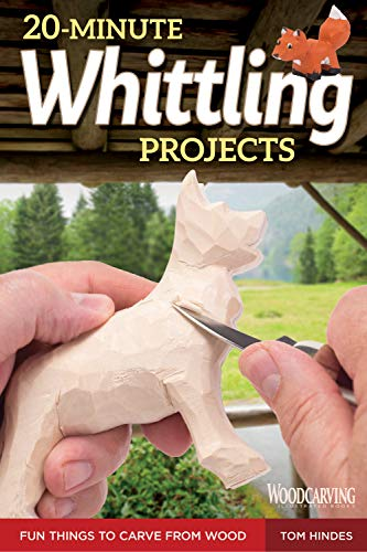 20-Minute Whittling Projects: Fun Things to Carve from Wood (English Edition) - Gargoyle-ornament
