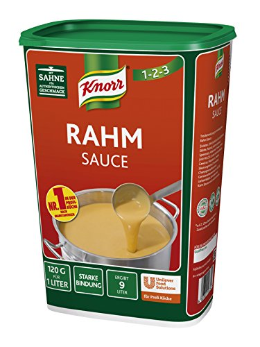 Knorr Rahmsauce 1 kg, 1er Pack (1 x 1 kg)