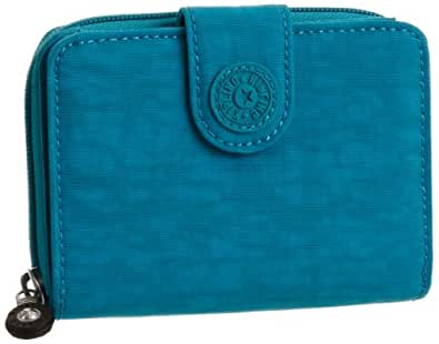 Kipling New Money, Portefeuilles  mode femme  - Turquoise (544 Turq Blue)