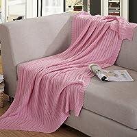 coperta di filo di cotone/Coperta di filo di cotone lavorato a maglia/ coperta/ aria condizionata coperta/ coperta-A 120x180cm(47x71inch)