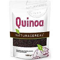 NATURACEREAL - Quinoa Negra Premium - 1kg - Fuente Natural de Proteína