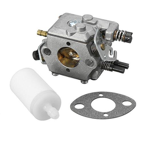 JenNiFer Carburateur avec Filtre À Essence pour Scie À Chaîne Husqvarna 51 55 503281504 Walbro Wt-170-1