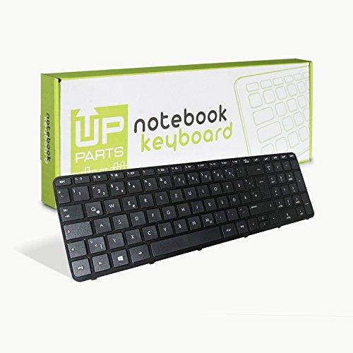 UP PARTS Uptown UP-KBH124-DE - Notebook Tastatur für HP Pavilion 250 G3 255 G3 256 G3 15-G / 15-R / 250 G3 / 255 G3 / HP Compaq 15-H 15-S Pavilion 15-E 15-N Series - Tastaturlayout Deutsch QWERTZ -