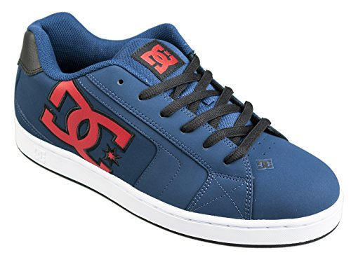 Scarpe DC Shoes Net Navy Red Skateboard (us 9-eur 42)