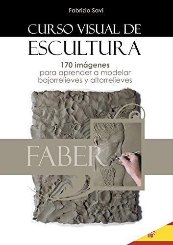 CURSO VISUAL DE ESCULTURA: 170 imágenes para aprender a modelar bajorrelieves y altorrelieves. por Fabrizio Savi