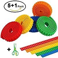 CLIP U0026 MOVE 5 Lego Kompatible Bänder Zum Aufkleben Inklusive  Sicherheitsschere Für Kinder   Jedes Band