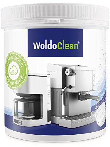 Reinigungstabletten für Kaffeevollautomaten Kaffeemaschinen & Espressomaschinen - 260x Tabletten 2g pro Tablette kompatibel mit Siemens Jura Krups Bosch Saeco Melitta Miele WMF Senseo Maschine