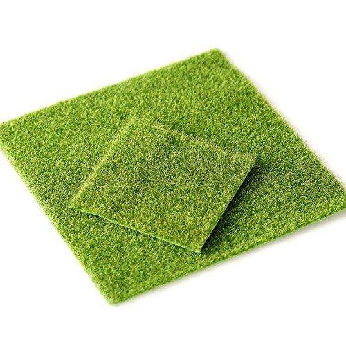 Erba artificiale Mat, tappeto di erba artificiale, finta erba TURF decorazione per interni/esterni, finta fiore pianta decorazione