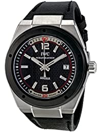 IWC INGENIEUR IW323401 GENTS BLACK NYLON STAINLESS STEEL CASE AUTOMATIC WATCH
