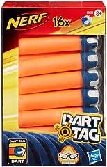 Idea Regalo - Hasbro Nerf Nerf - Dart Tag Ricariche, 16 Pezzi