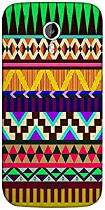 Snoogg Aztec Big Flow Designer Protective Back Case Cover For Micromax A116