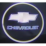 omtec Chevrolet Logo Laser LED Lampes de voiture de porte Welcome lumière pour Chevrolet (wl29)