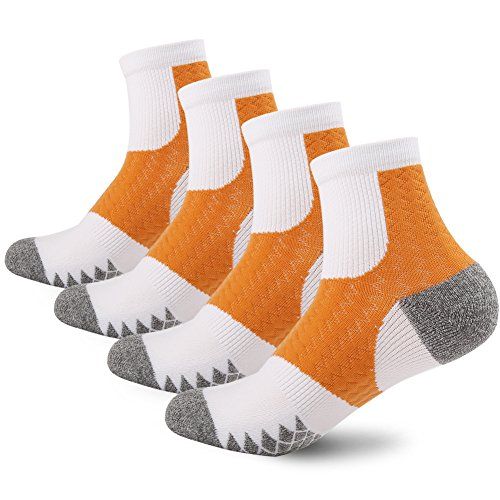 Men's Dri Fit Moisture Wicking Breathable Deodorant Basketball Sports Socks (Armour Streifen Under Jungen)