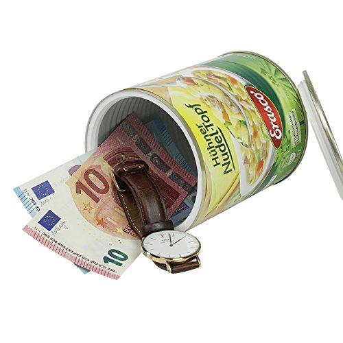 Geldversteck Dosensafe (Konservendose Bohnen) - 3