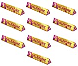 Toblerone Large Fruit & Nut Chocolate Bar, 360g - Pack of...