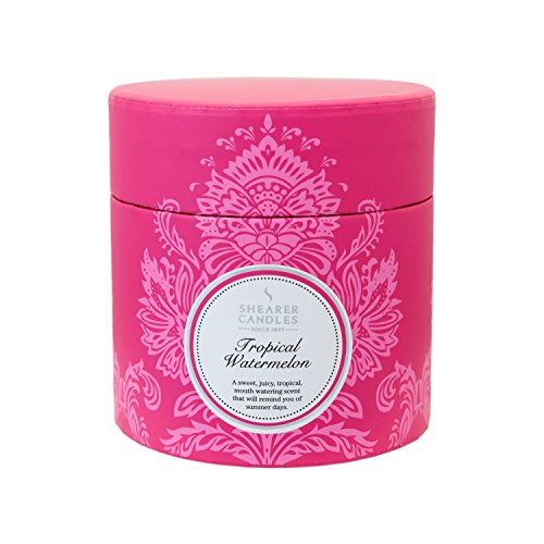 Shearer Candles Tropical Watermelon Scented Gift Box Candle, Pink (2015-05-15)