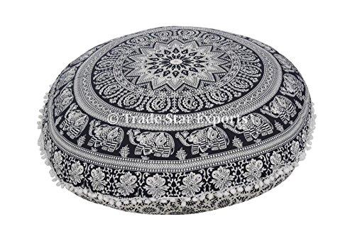 runde-bodenkissen-mandala-wurf-kissen-32-dekorative-indische-puff-grosse-ottoman-pompon-aussenkissen