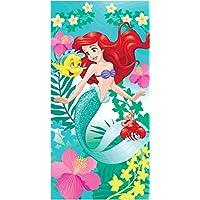 Disney Ariel Bath Towel 70 x 140 cm Mermaid Cotton