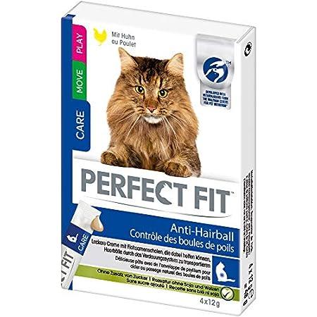 Perfect Fit Anti-Hairball – Cremiger Katzensnack für eine gesunde Verdauung – Mit Huhn – Unterstützt die Vitalität – 11…