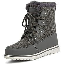 84d8a58c95b75 Mujer Forro Polar Forrado Nieve Invierno Impermeable Excursionismo Durable  Botines