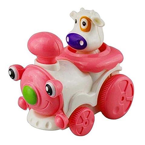 Lovely Mini Cartoon Animal Jouer Jouets Enfants Infants Funny Car Toys- The Rhino