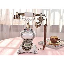 Max Home@ Teléfono clásico viejo estilo antiguo teléfono retro con un azul pantalla de manos - - Europea de Libre
