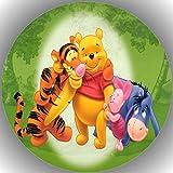 Premium Esspapier Tortenaufleger Geburtstag Winnie Pooh T33