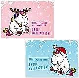 ArtUp.de 10 lustige Weihnachtskarten