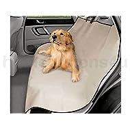 Generic Siège arrière de voiture 2en 1pour chien Protection étanche de coffre Hamac Premium Beige < 1& 2684* * * * * * * * 1>