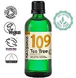 Naissance Aceite Esencial de Árbol de Té BIO n. º 109 - 100ml - 100% Puro, vegano, certificado ecológico y no OGM