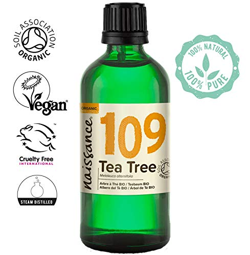 Naissance Aceite Esencial de Árbol de Té BIO n. º 109 - 100ml - 100% Puro, vegano, certificado...
