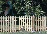 SEFIL Porte en bois pour clôture classique 80x100cm