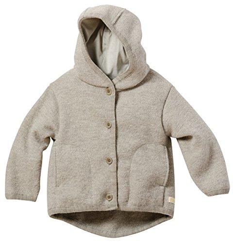 Disana 32310XX - Walk-Jacke Wolle grau, Size / Größe:74/80 (6-12 Monate)