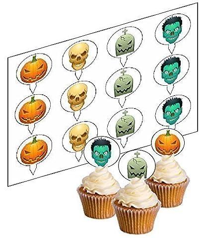 Qualité Halloween - 12 Halloween Mélange Amusant Nouveauté qualité LÈVE-TOI