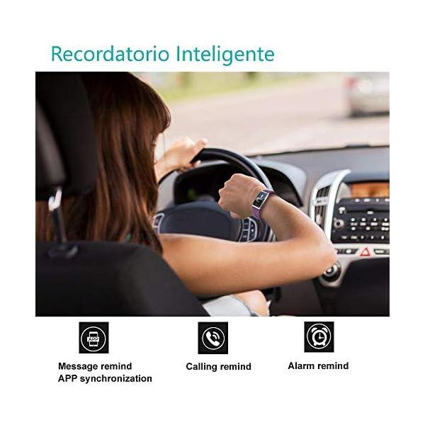 Willful Pulsera Actividad, Impermeable IP68 Pulsera Inteligente con Pulsómetro, Reloj Inteligente para Deporte… 6