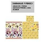 Sábana Pirineo 3 piezas Soy Luna