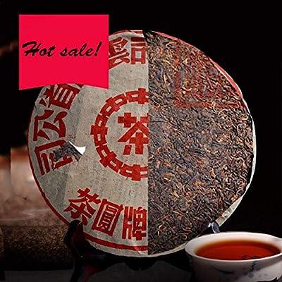 Thé Puer original de qualité supérieure 357g (0.787LB) thé de santé mûr Thé Pu'er biologique Thé noir Thé chinois Thé à thé Thé mûr Thé Puerh nourriture saine Thé Pu-erh Thé thé Puerh