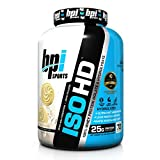 BPI Sports ISO HD Whey Protein Isolate and Hydrolysate, Vanilla Cookie, 4.9 Pound by BPI Sports