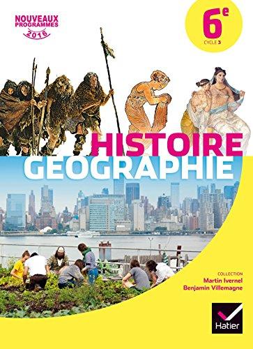Histoire-Gographie 6e d. 2016 - Manuel de l'lve