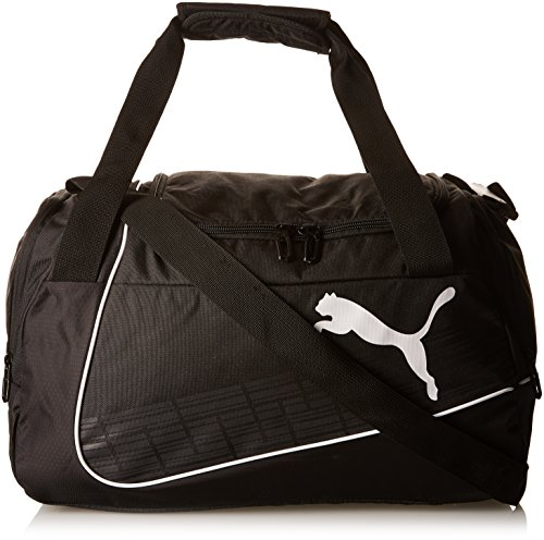 PUMA Sporttasche evoPOWER Small Bag, black/white, 49 x 20 x 24.5 cm, 30 liter, 073879 01